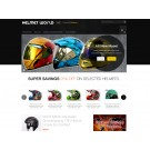 Helmet World - Homepage